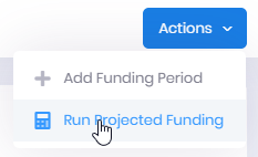 3 Run Projected Funding